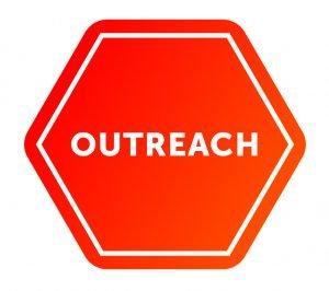 Outreach logo, Red