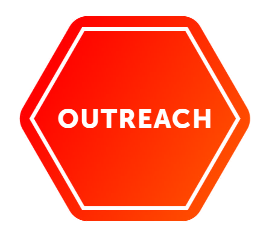 Outreach logo, Red